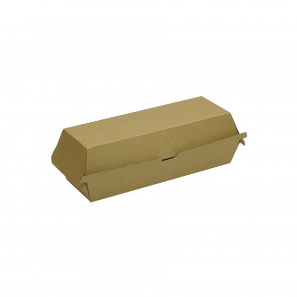 Kraft Corrugated Board Kraft Hot Dog Box
