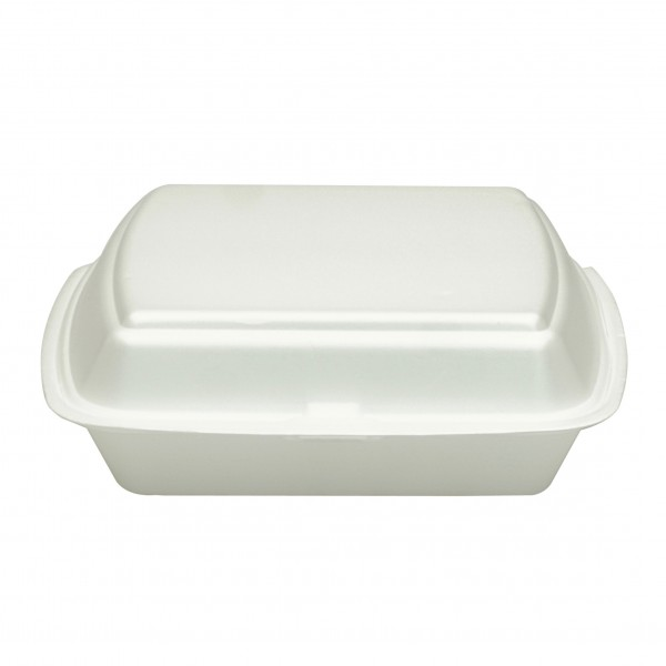 White Foam Dinner Boxes