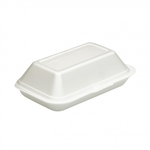 White Foam Snack Boxes