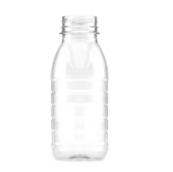 Transparent Plastic Juice Bottles