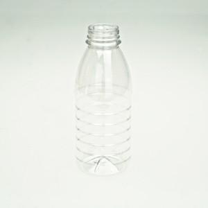 Transparent Plastic Juice Bottles