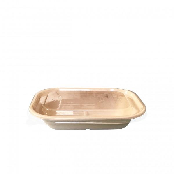 Kraft Fibre Takaway Boxes & Clear Lid