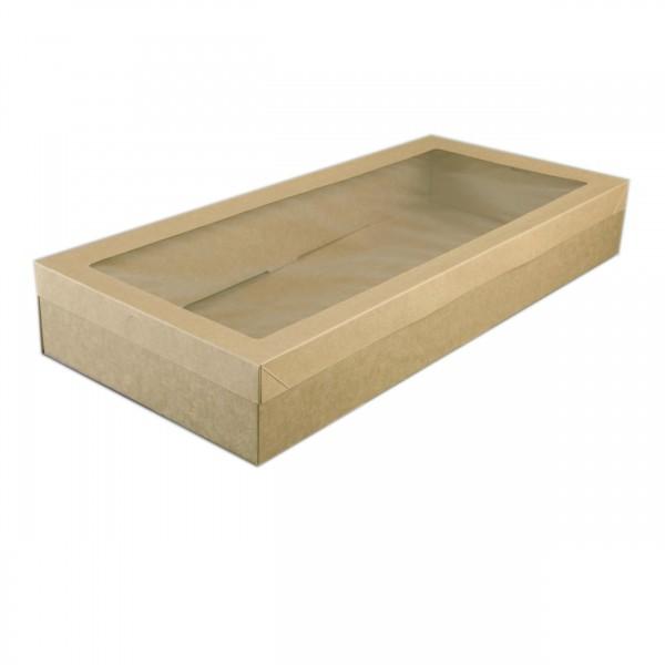 Kraft Cardboard Cater Box & Lid