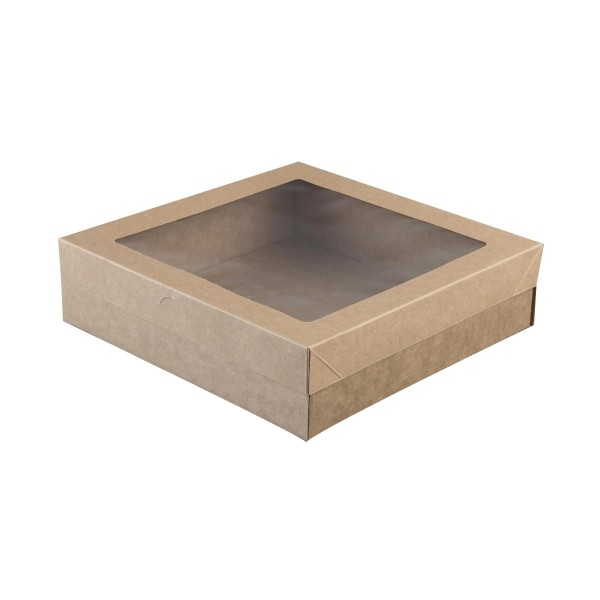 Kraft Cardboard Cater Box and Lids