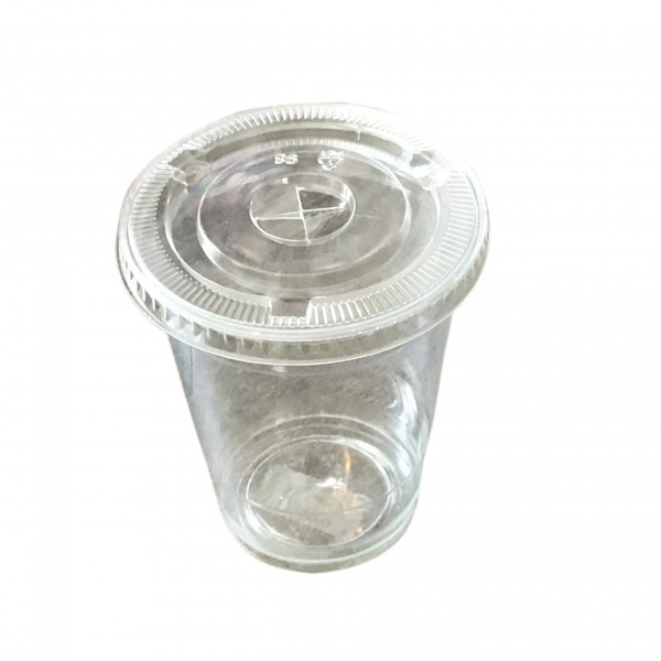 Clear Plastic Cups & Lids