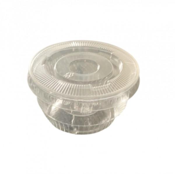 Clear Plastic Sundae Cups & Lid