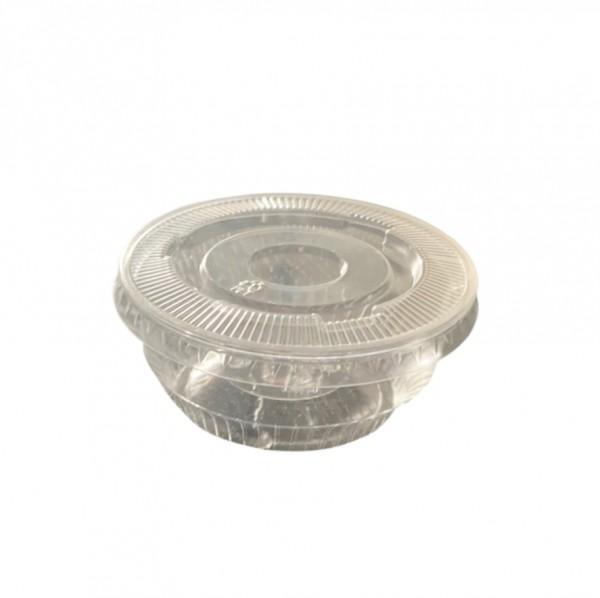 Clear Plastic Sundae Cup & Lid