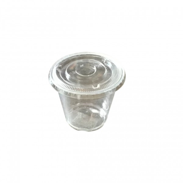 Clear Plastic Tasting Cups & Lids