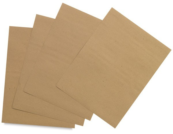 Brown Kraft Paper Sheets