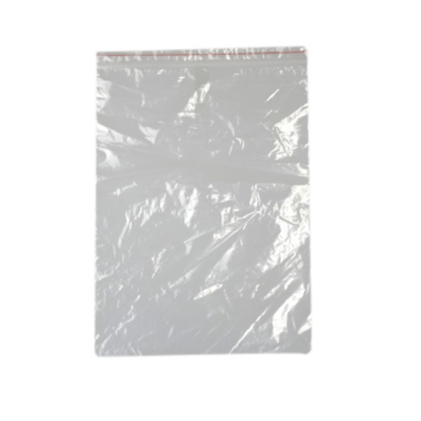 Clear Plastic- 35 um Resealable Bags