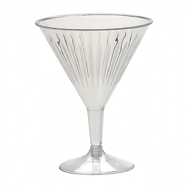 Clear Plastic Cocktail Glasses