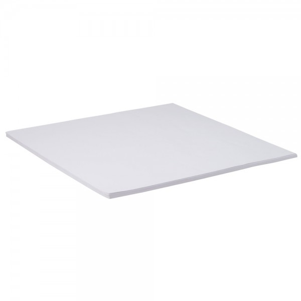 White Paper Square Tablecovers