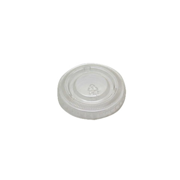 Clear Recyclable PET Plastic Lids