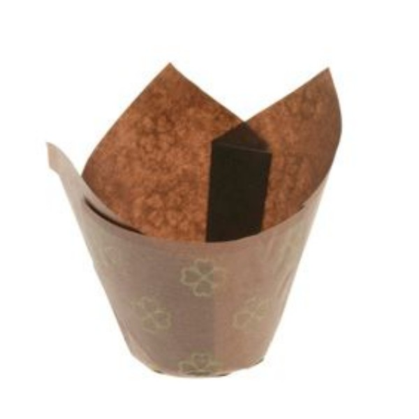 Brown Parchment Muffin Paper for MUFFIN12
