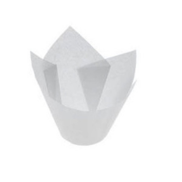 White Parchment Mini Muffin Papers