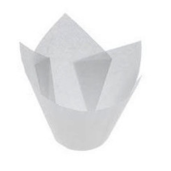 White Parchment Muffin Papers Suit MUFFIN6