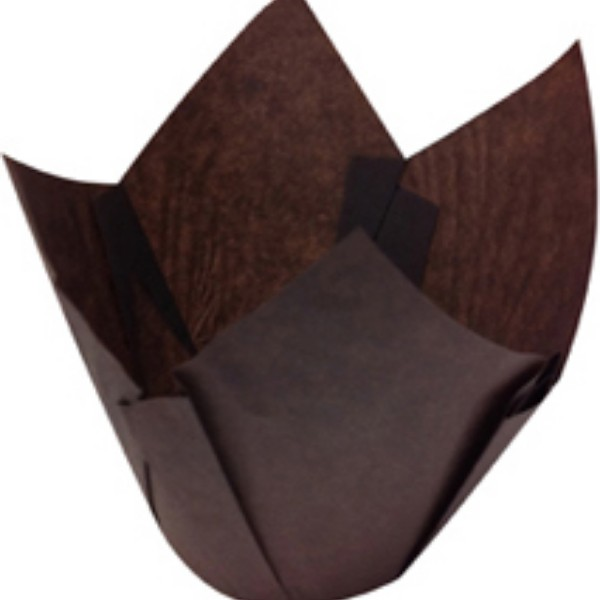 Brown Parchment Muffin Papers Suit MUFFIN6