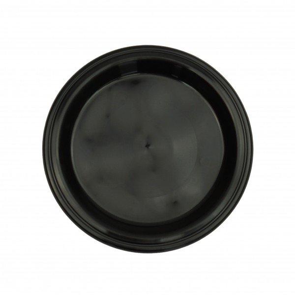 Black Plastic Dinner Plates