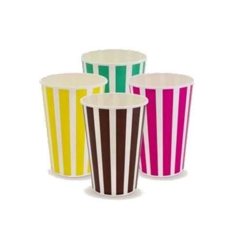 Pattern Paper Cold Drink Cups