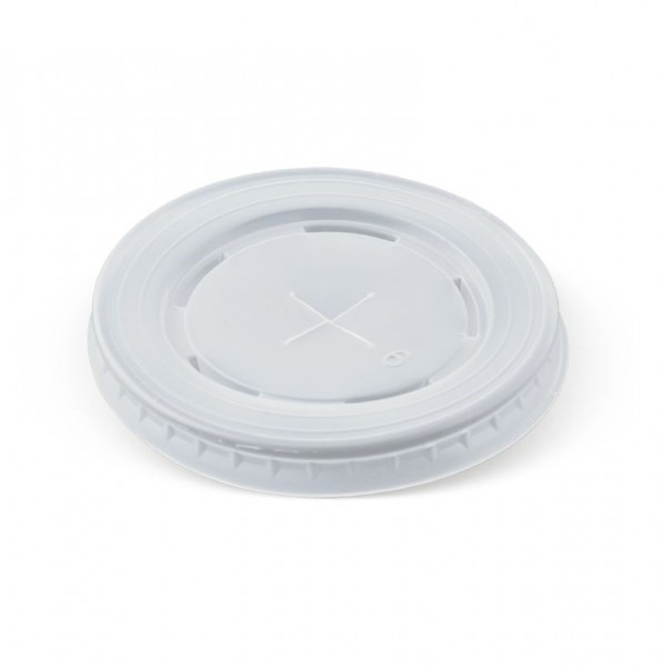 Opaque Plastic Lid with strawslot for: PA24, PA16OZ, PA22OZ