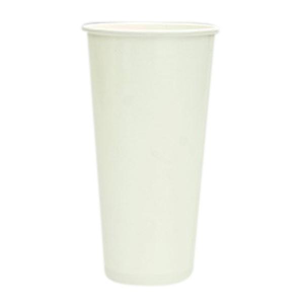 White Paper Milkshake Cups