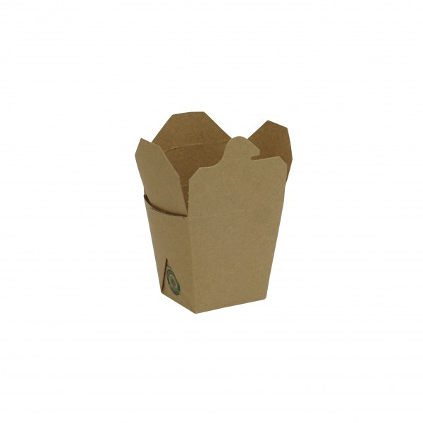 Brown Card Food Pails