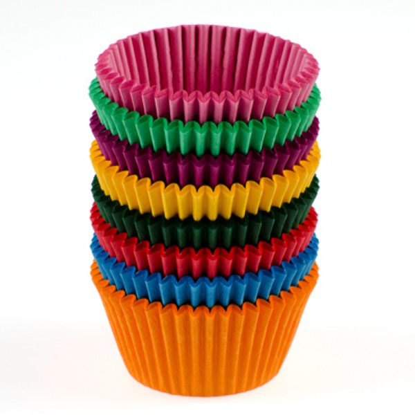 Coloured Paper Patty Pans