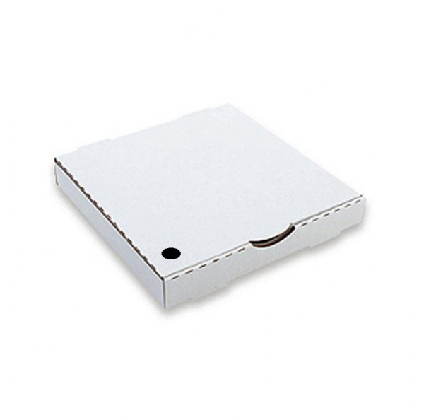White Corrugated Cardboard Pizza Boxes