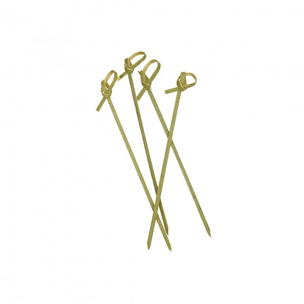 Brown Bamboo Knotted Toothpicks