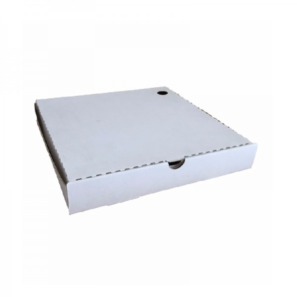 White/ Kraft Corrugated Cardboard Pizza Boxes