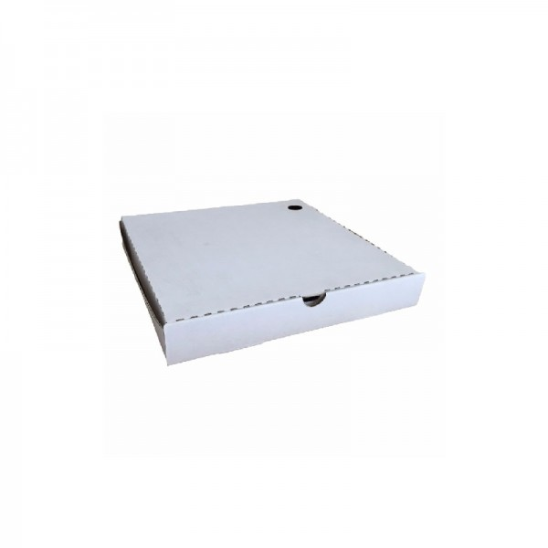 White/ Kraft Corrugated Cardboard Pizza Boxes
