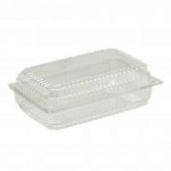 Clear Plastic Hinged Lid Salad Packs
