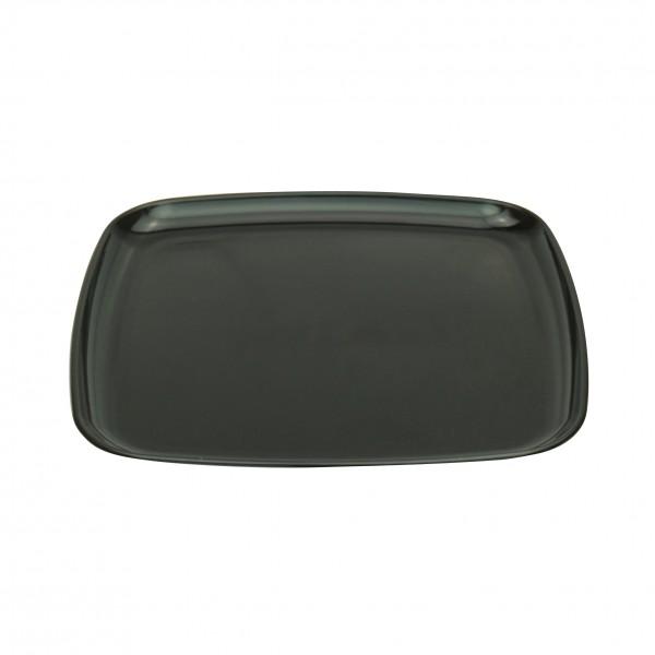 Black Plastic Square Platters