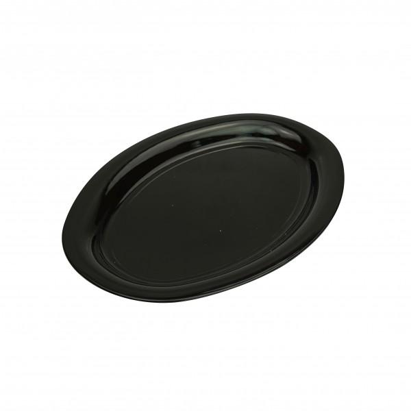 Black Plastic Oval Platters