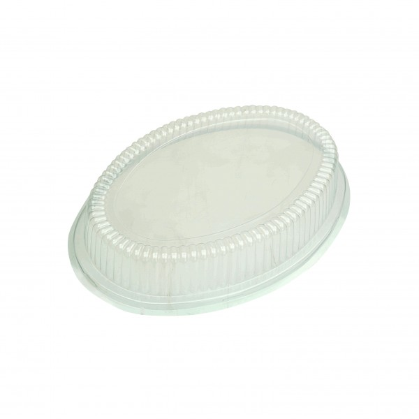 Clear Plastic Oval Lids