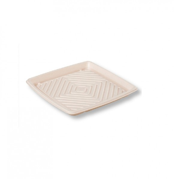 Kraft Plant Fibre Eco Friendly Platters