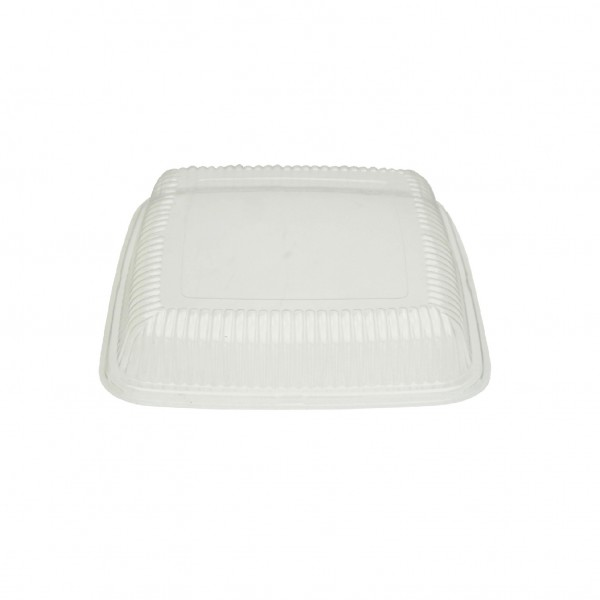 Clear PET Recyclable Platter Lid for PLATECO12