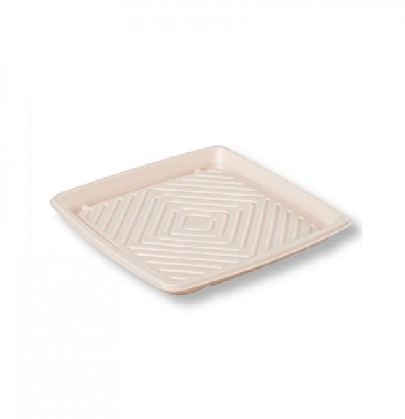 Kraft Plant Fibre Eco Friendly Platters