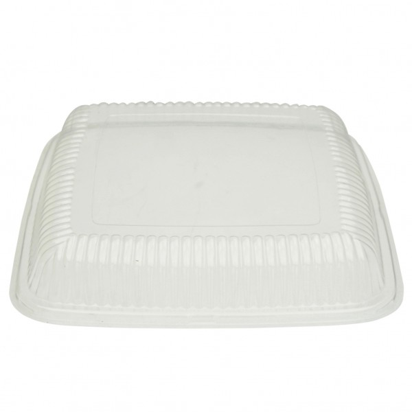Clear PET Recyclable Plater Lid for PLATECO16