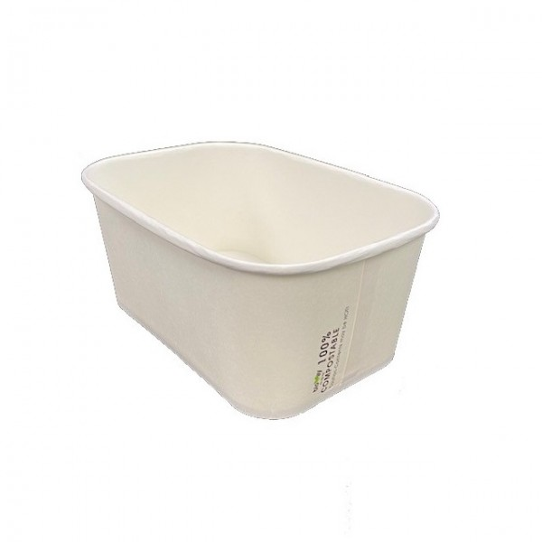 White Paper, PLA Lining Takeaway Containers