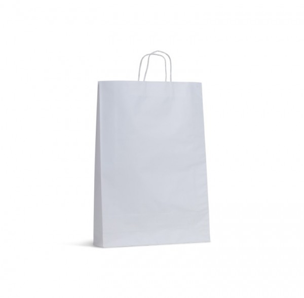 White Paper Handle Bags
