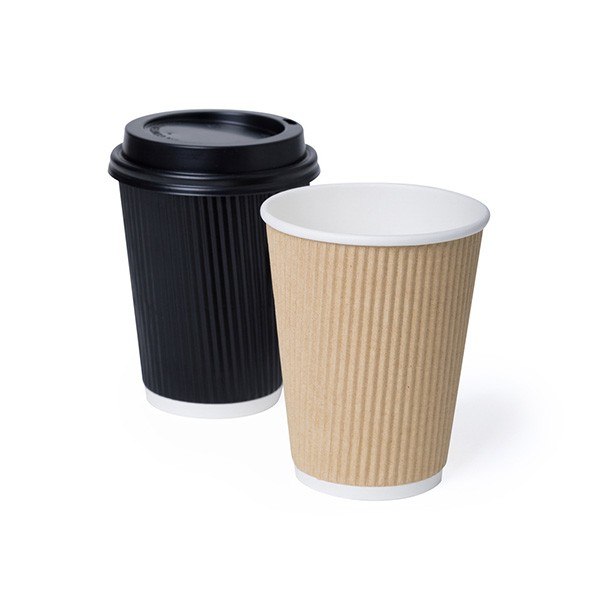 Ripple Wrap Coffee Cups
