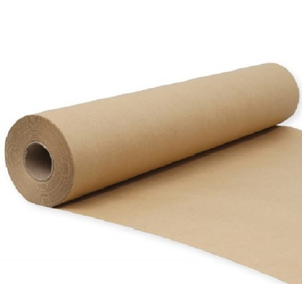 Kraft Brown 80gsm Paper Gift Wrap Roll
