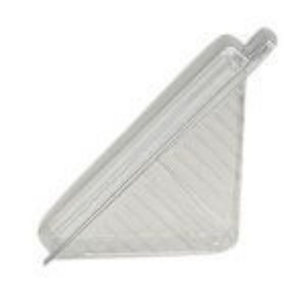 Clear Plastic Sandwich Wedges