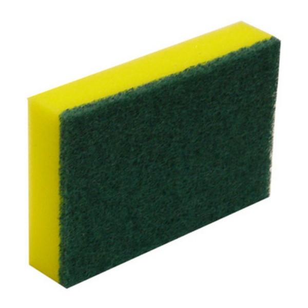 Green/Yellow Sponge Scourer Scourer Pads