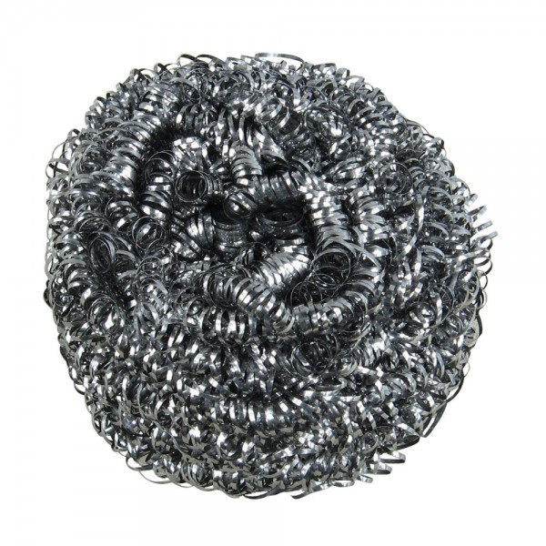 Silver Stainless Steel Scourer Pads