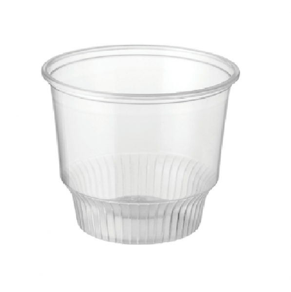 Clear Recyclable PET Plastic Sundae Cups