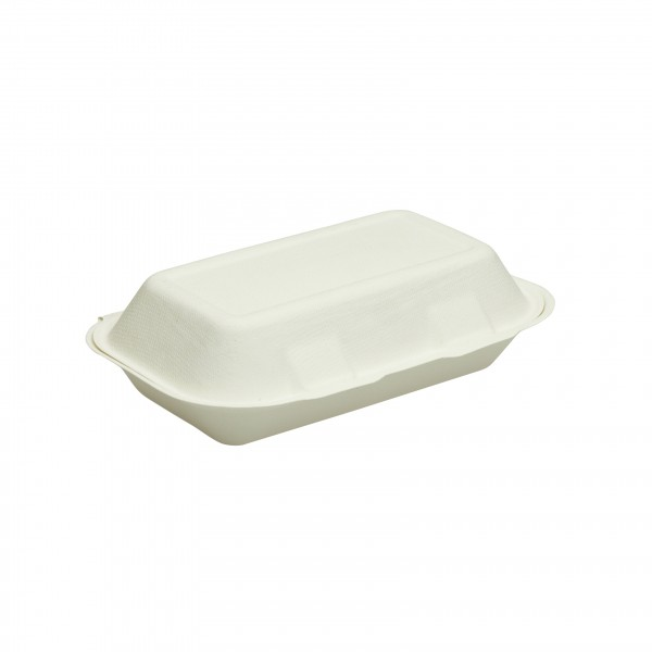 White Biodegradable Cardboard Snack Boxes