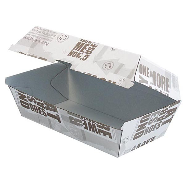 Newspaper Printed Corrugated Cardboard Snack Boxes