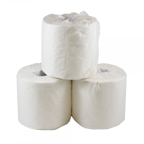 White 2 Ply Paper Toilet Rolls